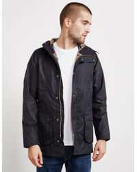 Barbour - Mens Made For Japan Bedale Waxed Jacket Navy Blue - Lyst