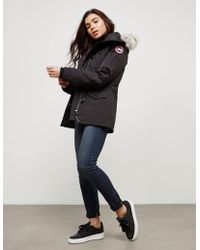 Canada Goose Montebello Padded Parka Jacket Black