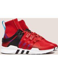 adidas Originals - Mens Eqt Support Adv Winter Red/black - Lyst