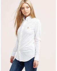 Polo Ralph Lauren Oxford Shirt White