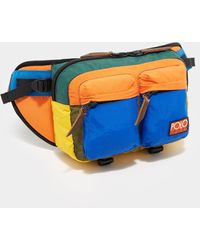Polo Ralph Lauren Colour Block Bum Bag Multi Coloured - Blue