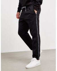 new images of uk availability popular style Thin Tape Track Pants - Online Exclusive Black