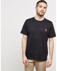 PS by Paul Smith - Mens Pop Zebra Short Sleeve T-shirt Black - Lyst
