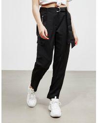 DKNY Belt Joggers Black