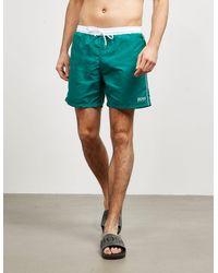 BOSS Starfish Swim Shorts Green