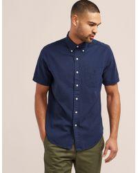 Polo Ralph Lauren Short Sleeve Shirt Navy Blue