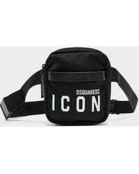 DSquared² Icon Crossbody Bag Black