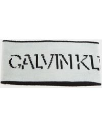Calvin Klein Shadow Headband - White