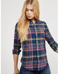 Polo Ralph Lauren - Button-down Flannel Shirt - Lyst