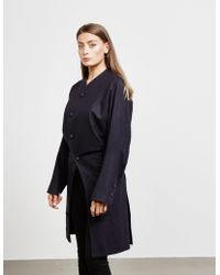 Vivienne Westwood Anglomania Pier Coat - Online Exclusive Navy Blue