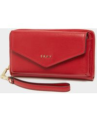 DKNY Polly Chain Purse Red/red