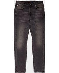 Nudie Jeans Lean Dean Slim Jeans - Grey