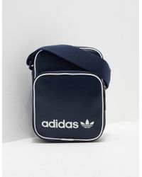 adidas Originals - Mens Mini Bag Vintage Navy Blue - Lyst