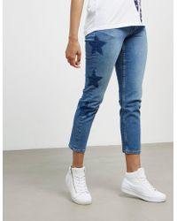 Tommy Hilfiger - Womens Slim Izzy Star Jeans Blue/blue - Lyst