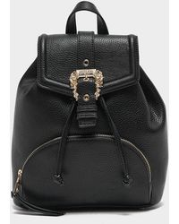 Versace Jeans Couture Bucket Backpack Bag - Black