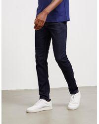 Love Moschino Peace Slim Jeans Indigo/indigo - Blue