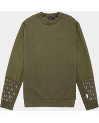 Mallet Mystic Reflective Sweatshirt - Green