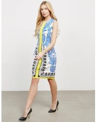 Versace - Womens Printed Dress - Online Exclusive White - Lyst