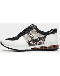 Michael Kors - Allie Extreme Python Trainers - Lyst