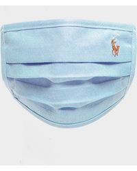 Polo Ralph Lauren Polo Player Face Mask - Blue