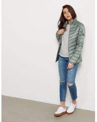 Barbour - Womens Interntional Quilted Jacket - Online Exclusive Green - Lyst