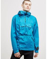 C P Company - Mens Nylon Foil Goggle Jacket Blue - Lyst