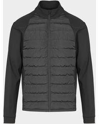 Castore Quilted Panel Jacket - Black