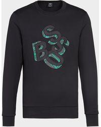 BOSS by Hugo Boss - 3d Letters Sweater - Lyst