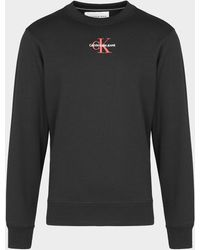 Calvin Klein Icon Essential Sweatshirt - Black