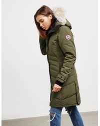 Canada Goose - Lorette Parka Jacket Green - Lyst