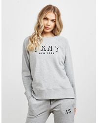 DKNY Sport Logo Sweatshirt Grey