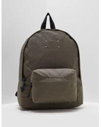 Maison Margiela Medium Nylon Backpack Olive - Green
