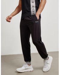 BOSS - Night Cuff Fleece Lounge Pants - Online Exclusive Black - Lyst