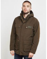 Barbour - Mens International Endo Waterproof Jacket Olive/olive - Lyst