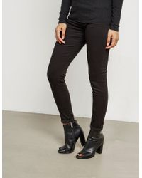 Polo Ralph Lauren - Womens Super Skinny Jeans Black - Lyst
