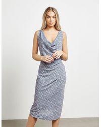 Vivienne Westwood Angolmania Virginia Dress - Blue