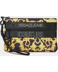Versace Jeans Couture Baroque Pouch Bag - Black