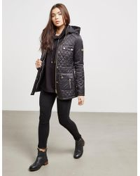 Barbour - Womens International Penhal Quilted Jacket Black - Lyst