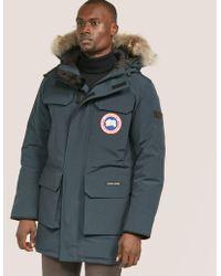 Canada goose men's citadel parka black