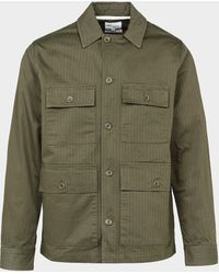 Norse Projects Four Pocket Overshirt - Green