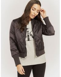 CALVIN KLEIN 205W39NYC - Opal Quilted Bomber - Lyst