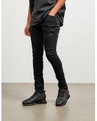 Represent Biker Skinny Jeans - Exclusive - Black