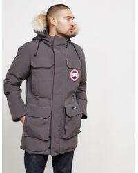 Canada Goose - Mens Citadel Padded Parka Jacket Grey/grey - Lyst