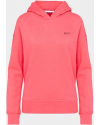 BOSS by Hugo Boss Eshanta Small Logo Hoodie - Pink