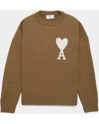 AMI Knit Sweater Green