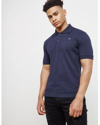 Vivienne Westwood - Mens Orb Short Sleeve Polo Shirt Navy Blue - Lyst