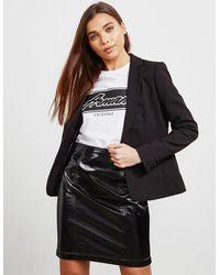 Armani Exchange Stretch Blazer Black
