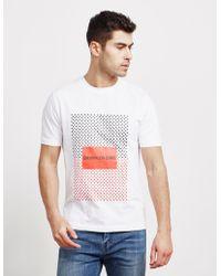 Calvin Klein - Institutional Star Short Sleeve T-shirt White - Lyst