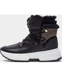 Michael Kors Cassia Fur Boots Black