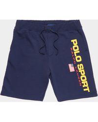 Polo Ralph Lauren Sport Shorts Navy Blue